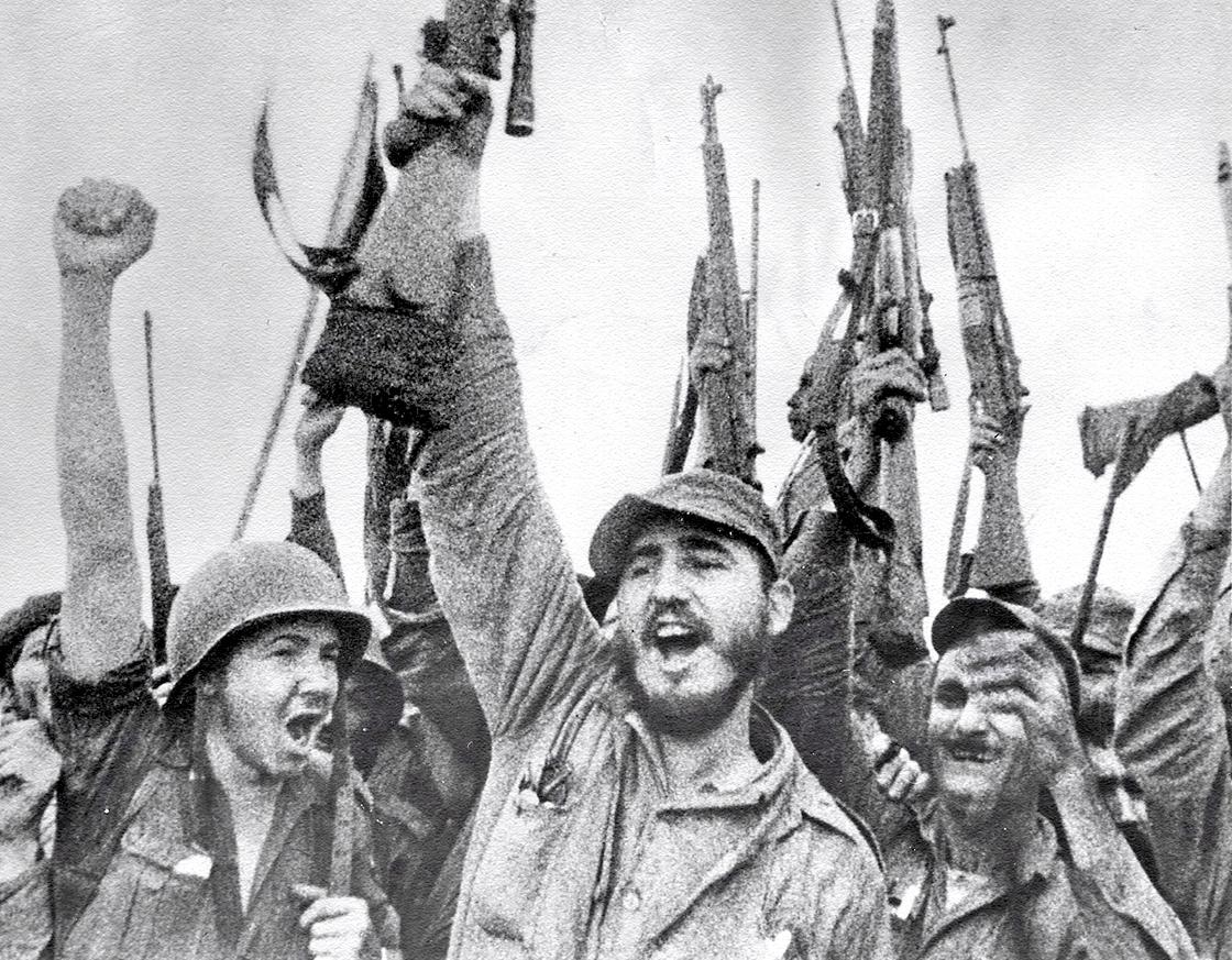 Cuba 1959. Fidel Castro y la revolución cubana acapararon el apoyo de miles