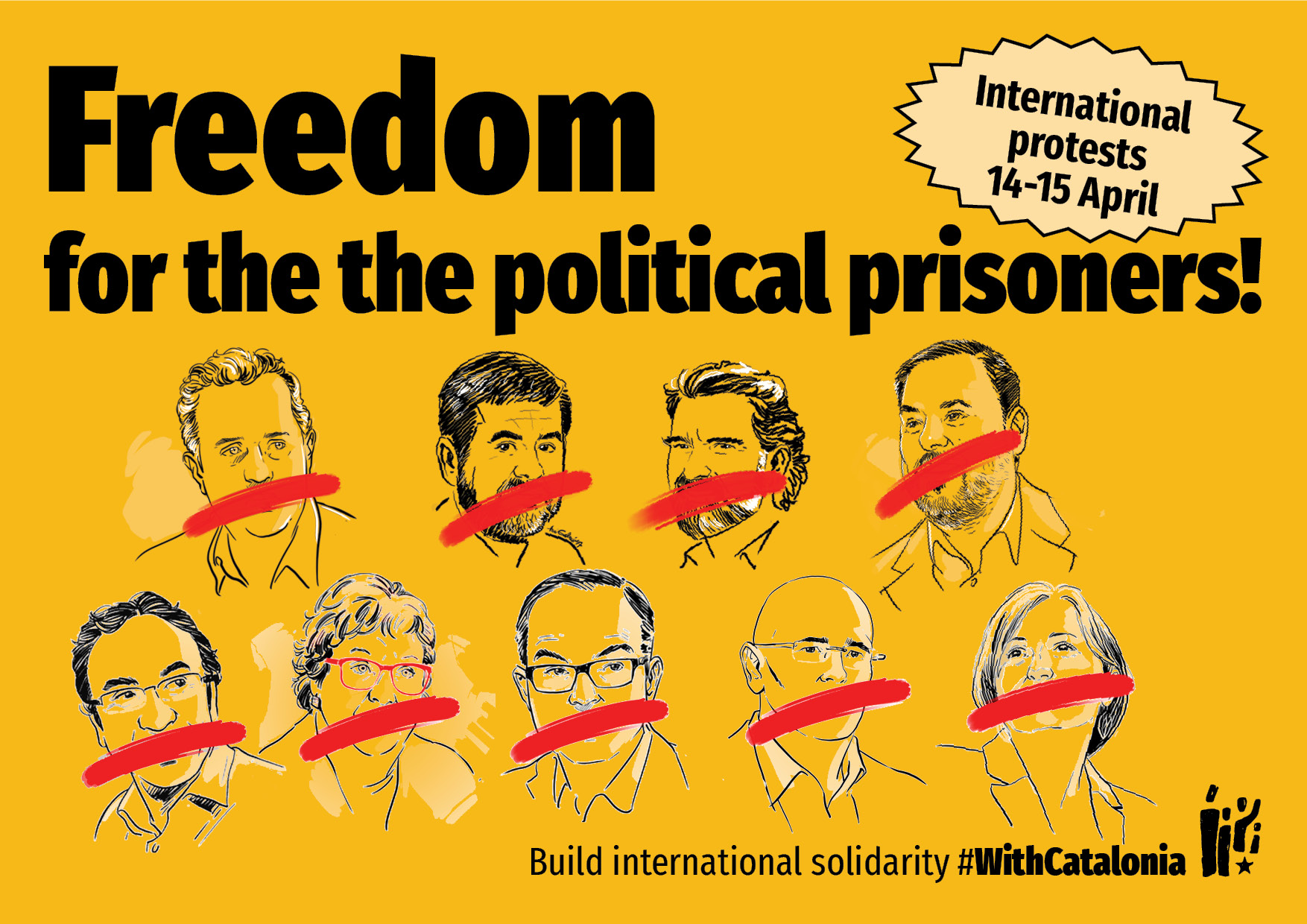 Freedom for the political prisoners