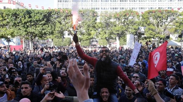 Movilizaciones en Tuñez 2018