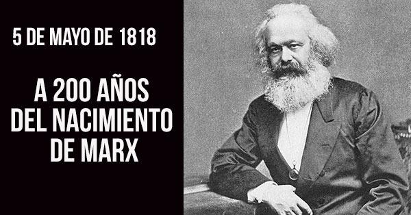 A 200 años del nacimiento de Marx