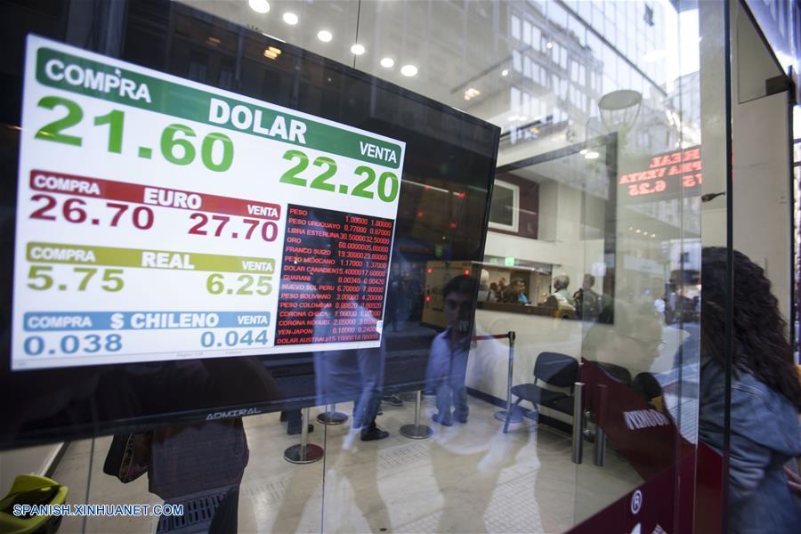 Suba del dolar Argentina