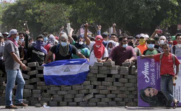 Barricadas en Nicaragua insurección contra Daniel Ortega