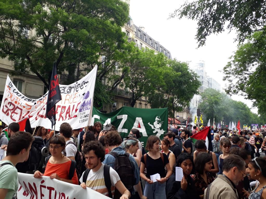 Francia por la huelga general 4
