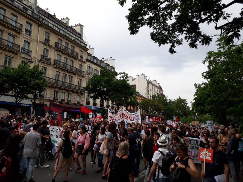 Francia por la huelga general 7