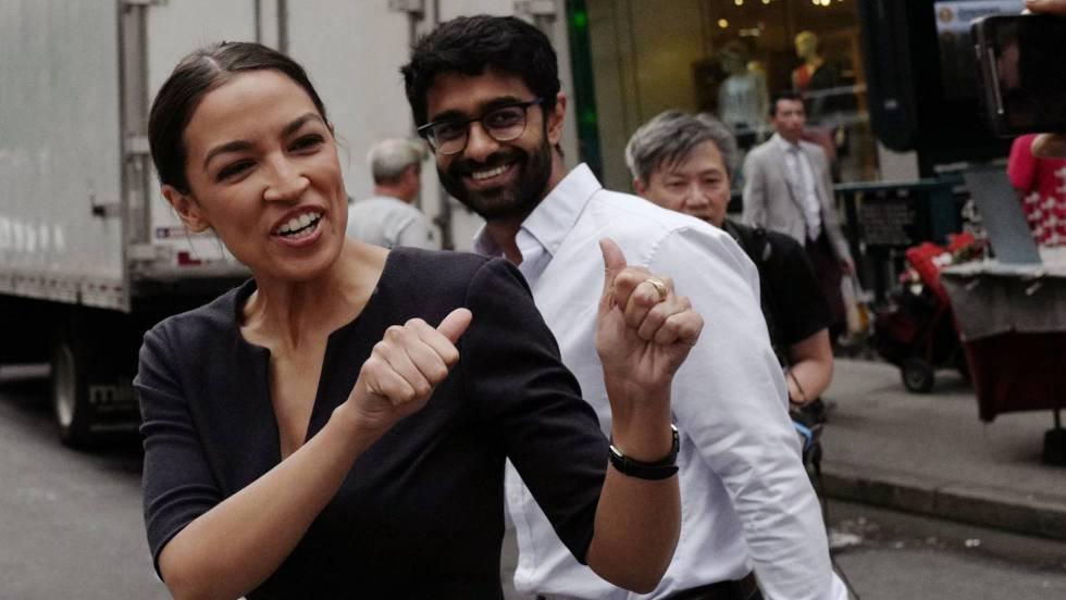 Alexandria Ocasio-Cortez gana las primarias en Nueva York