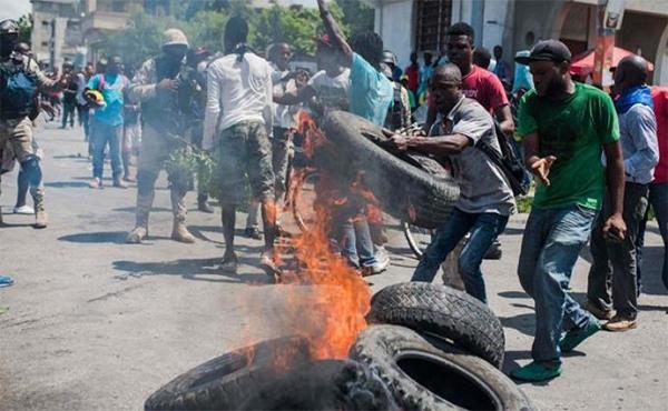 Haití se rebela