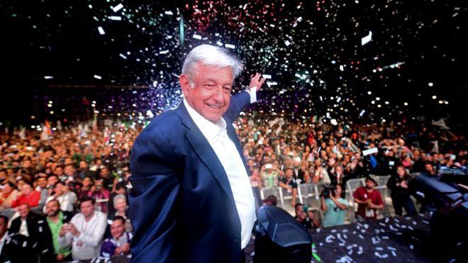 Lopez Obrador gana las elecciones en México