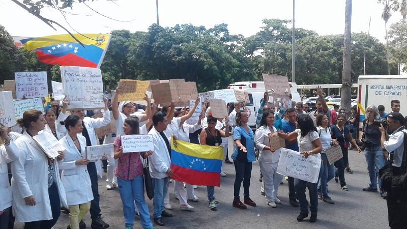 Lucha en Venezuela por el salario