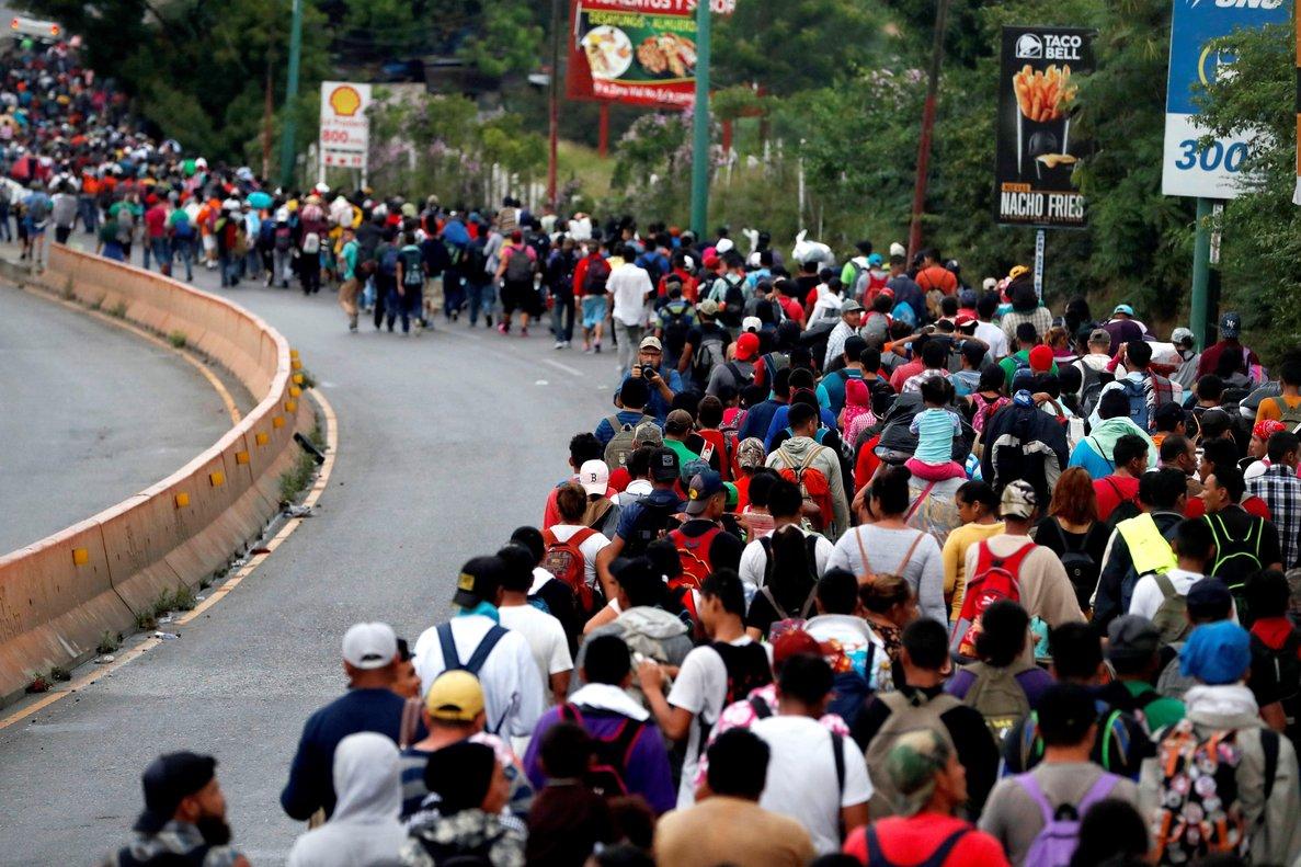 Crisis migratoria en centroamérica