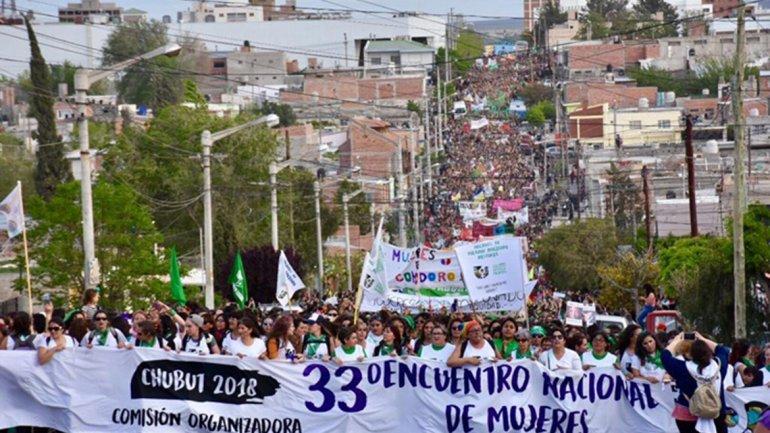 Marcha del 33 ENM Trelew