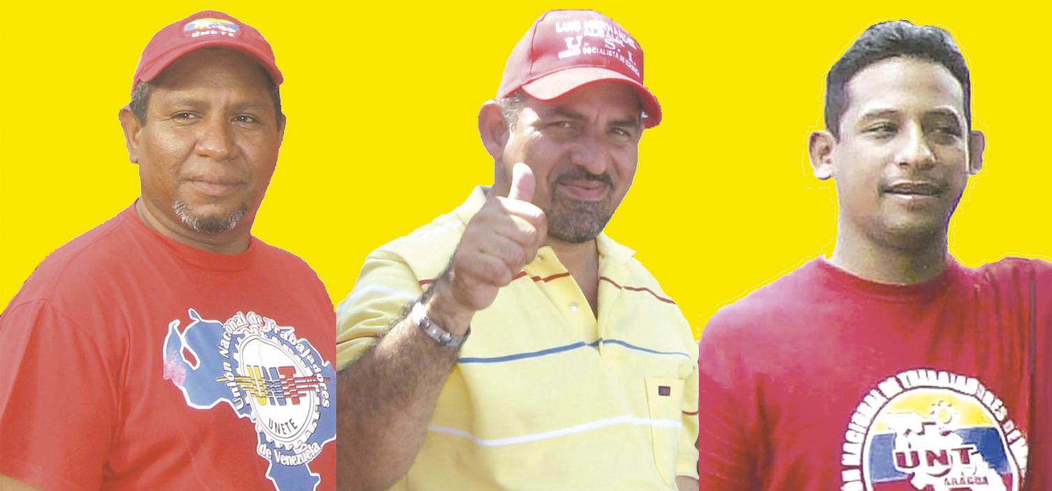 Richard Gallardo Luis Hernández y Carlos Requena es