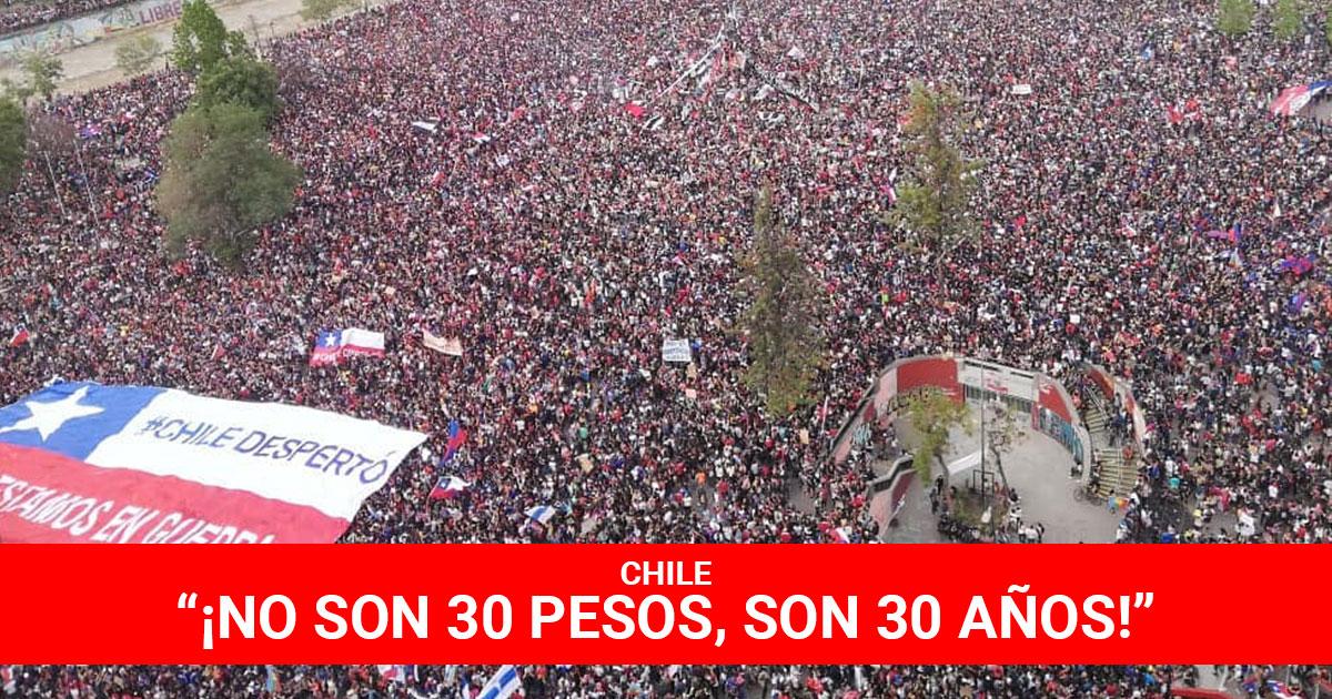Chile---No-son-30-pesos-son-30-años