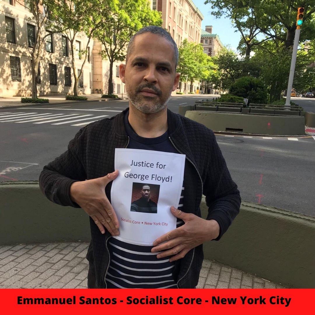 Emmanuel Santos - Socialist Core - New York City  1