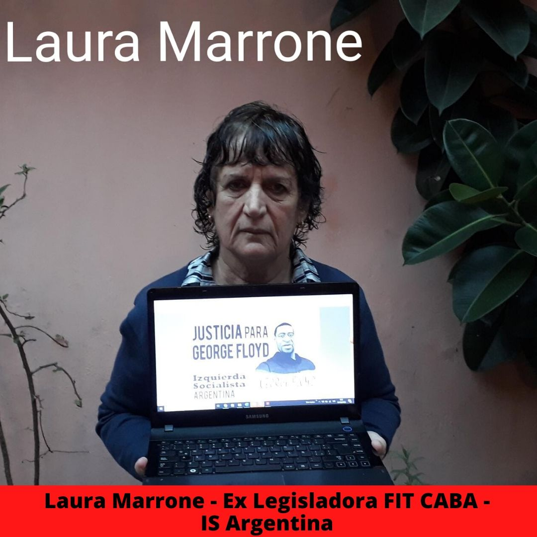 Graciela Calderon - Secretaria Adjunta SUTEBA La Matanza - IS Argentina 5