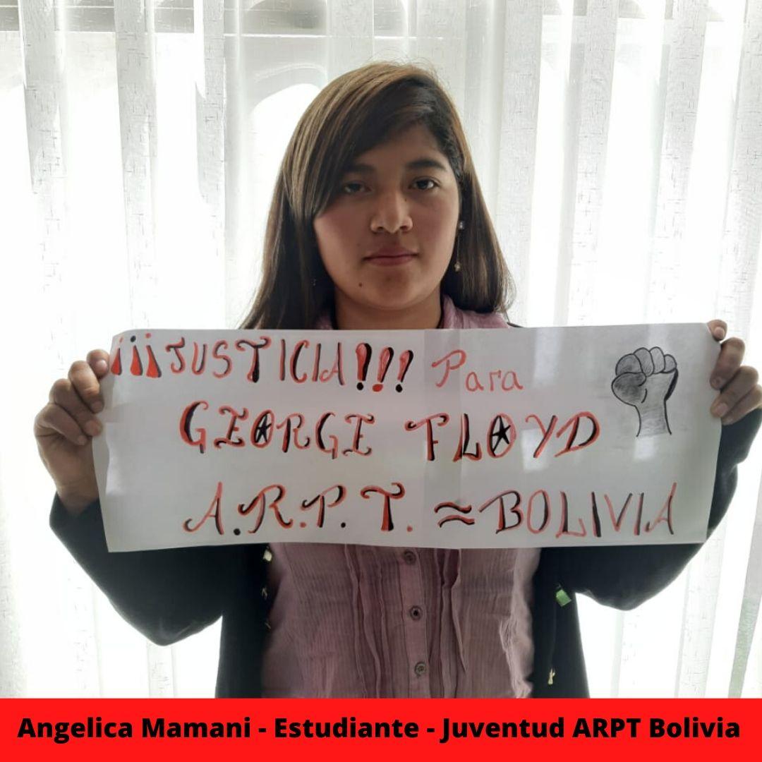 angelica mamani - estudiante - juventud arpt bolivia