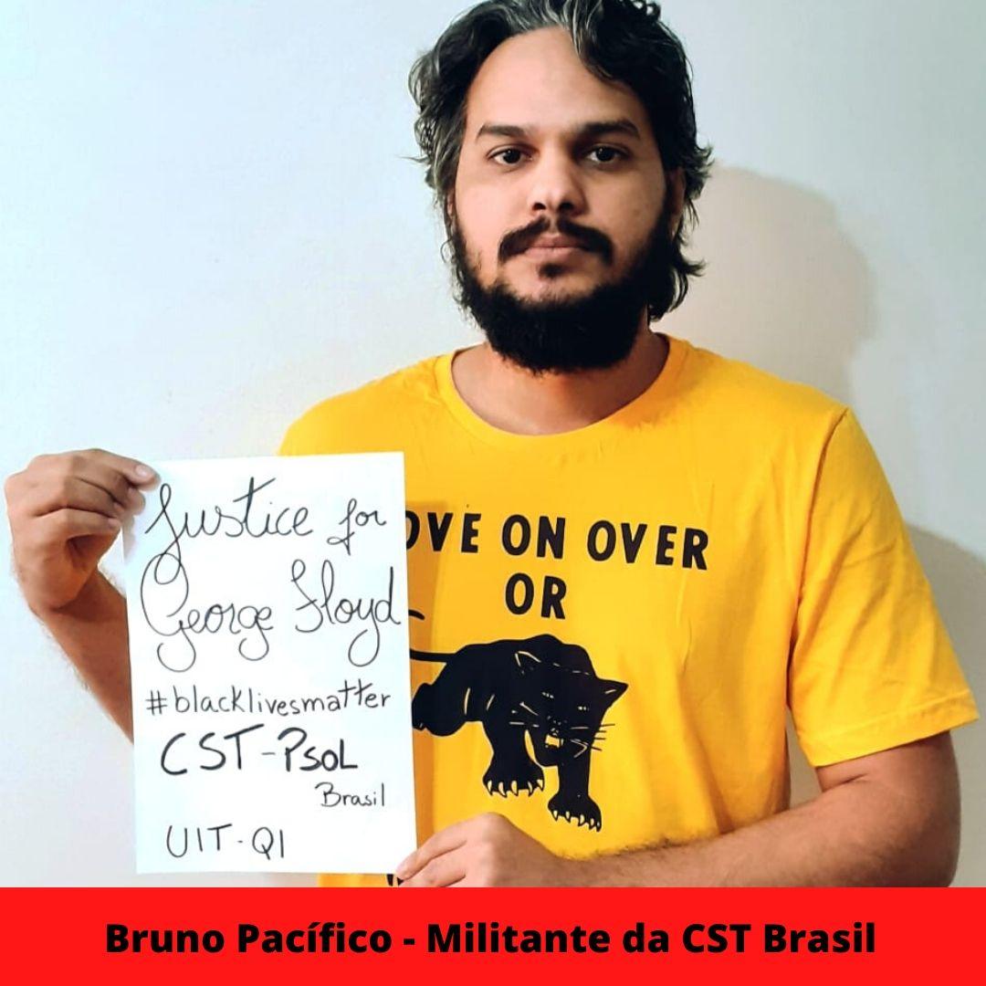 bruno pacfico - militante da cst brasil