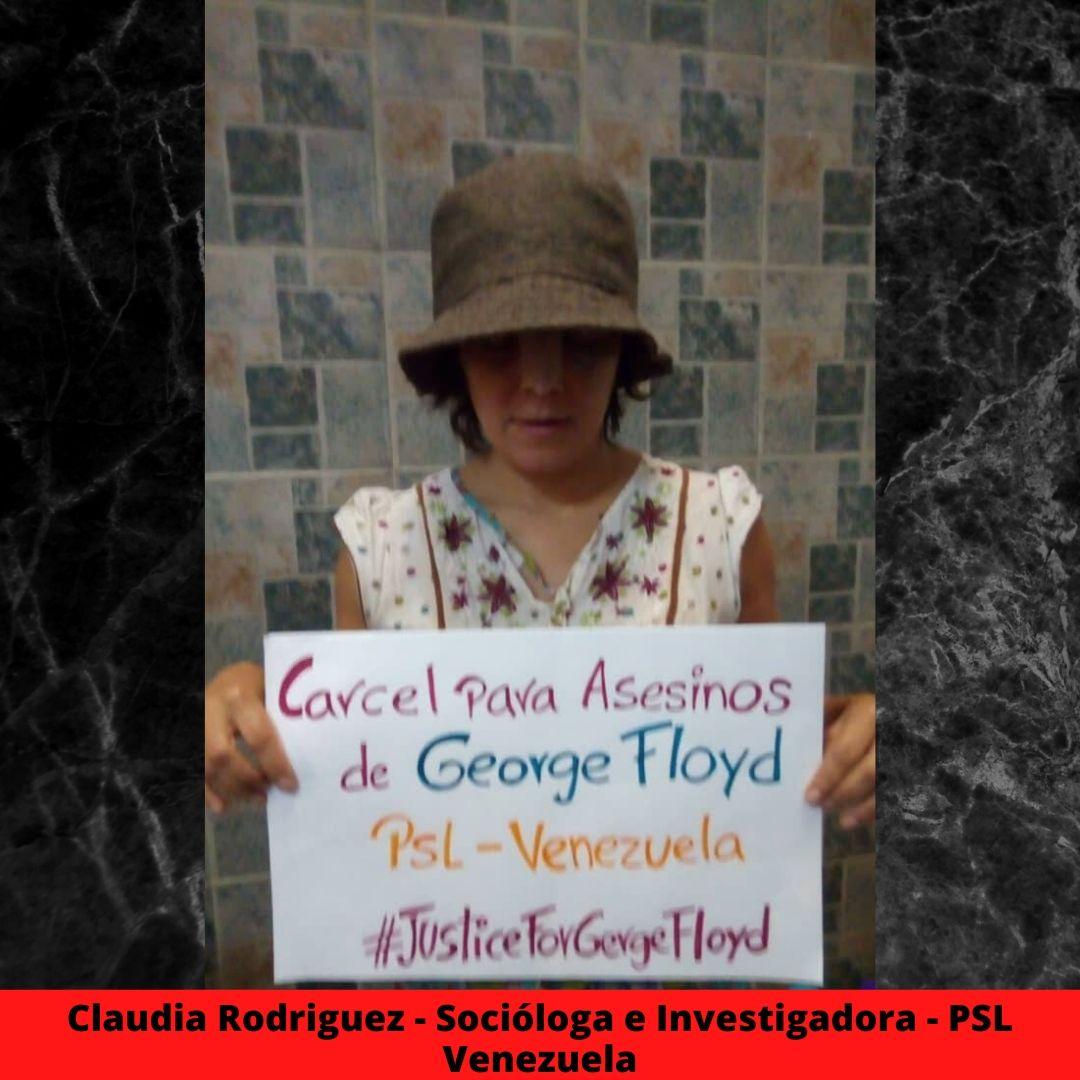 claudia rodriguez - sociloga e investigadora - psl venezuela