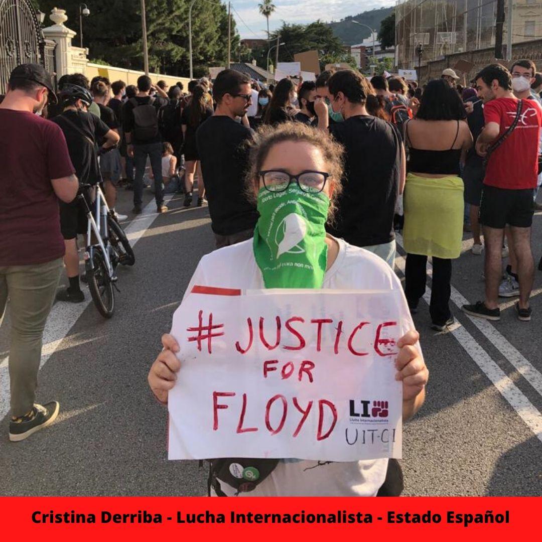 cristina derriba - lucha internacionalista - estado espaol