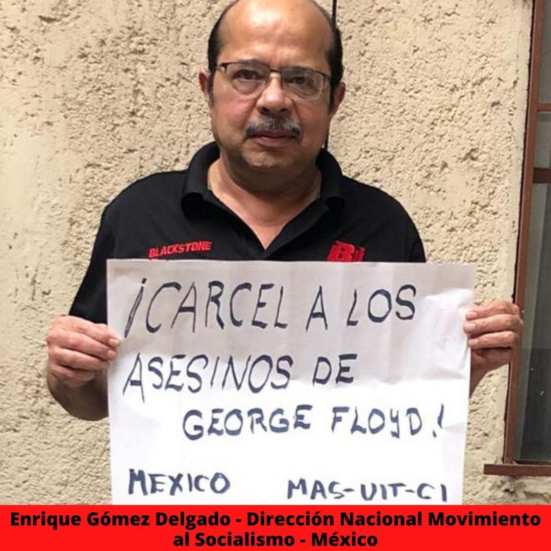 enrique gmez delgado - direccin nacional movimiento al socialismo - mxico