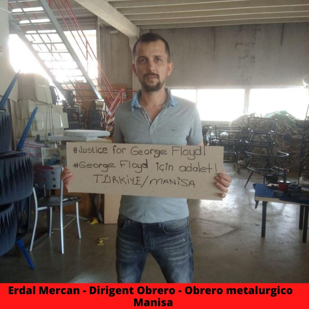 erdal mercan - dirigent obrero - obrero metalurgico  manisa