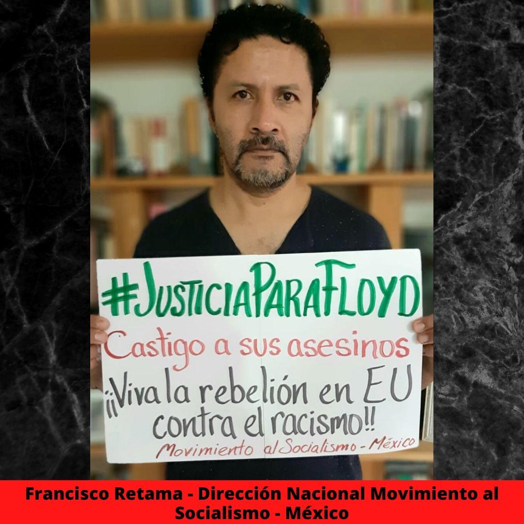 francisco retama - direccin nacional movimiento al socialismo - mxico