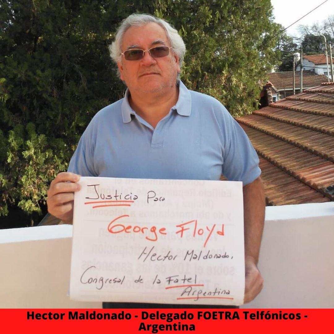 hector maldonado - delegado foetra telfnicos - argentina