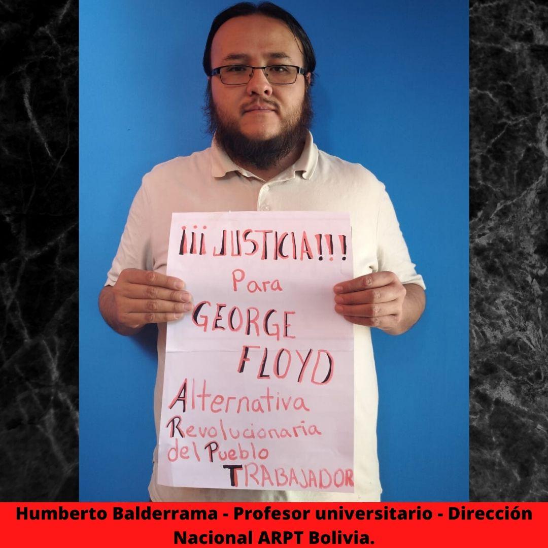 humberto balderrama - profesor universitario - direccin nacional arpt bolivia