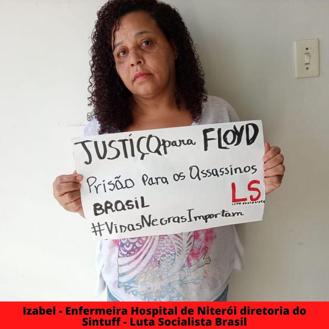 izabel - enfermeira hospital de niteri diretoria do sintuff - luta socialista brasil