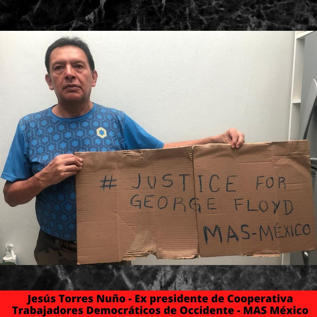 jess torres nuo - ex presidente de cooperativa trabajadores democrticos de occidente - mas mxico