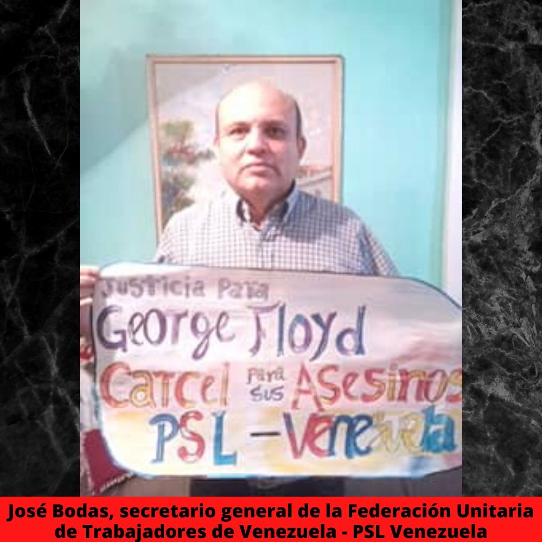 jos bodas secretario general de la federacin unitaria de trabajadores de venezuela - psl venezuela