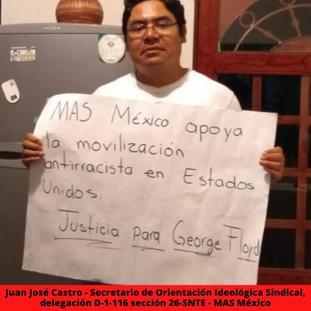 juan jos castro - secretario de orientacin ideolgica sindical delegacin d-1-116 seccin 26-snte - mas mxico