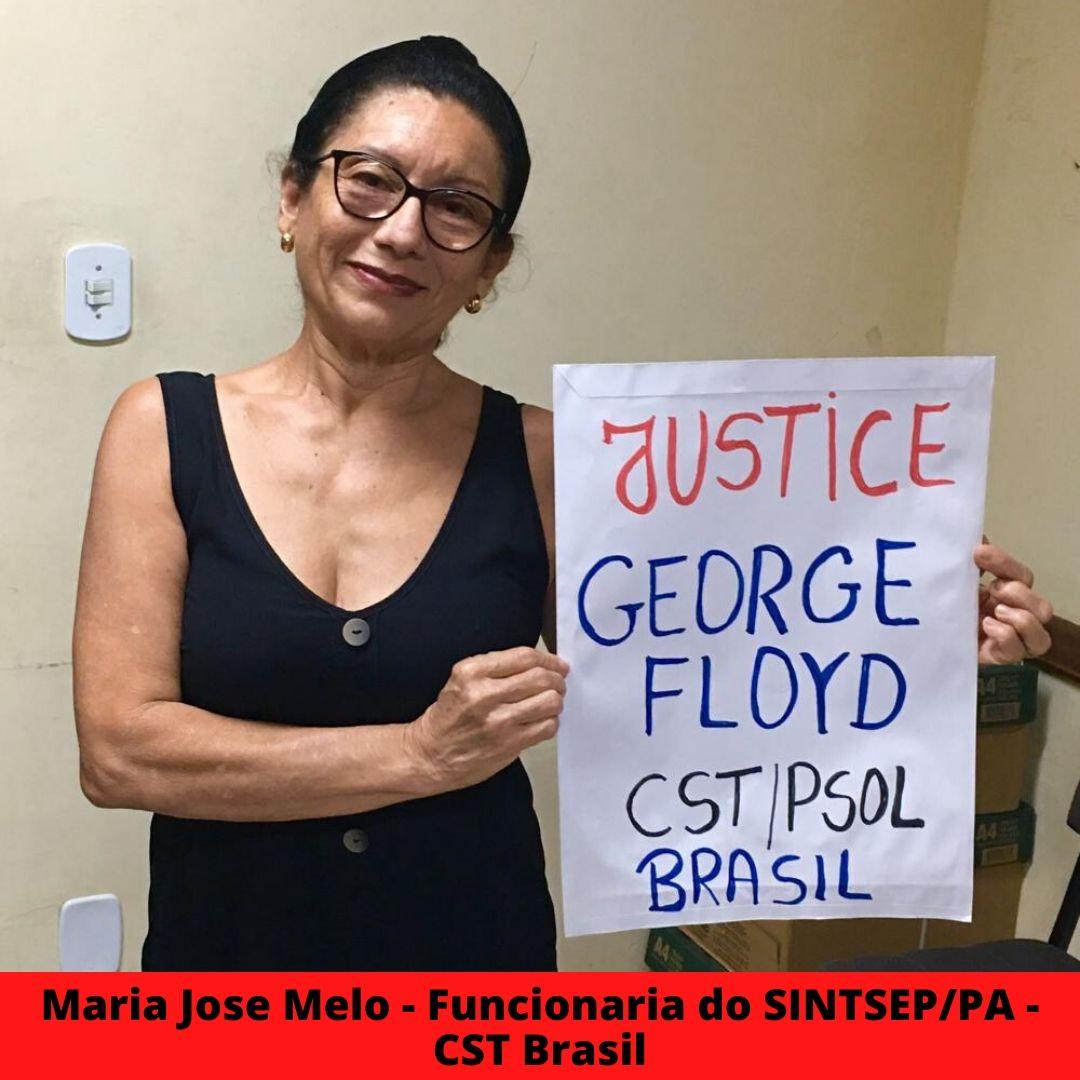 maria jose melo - funcionaria do sintsep pa - cst brasil
