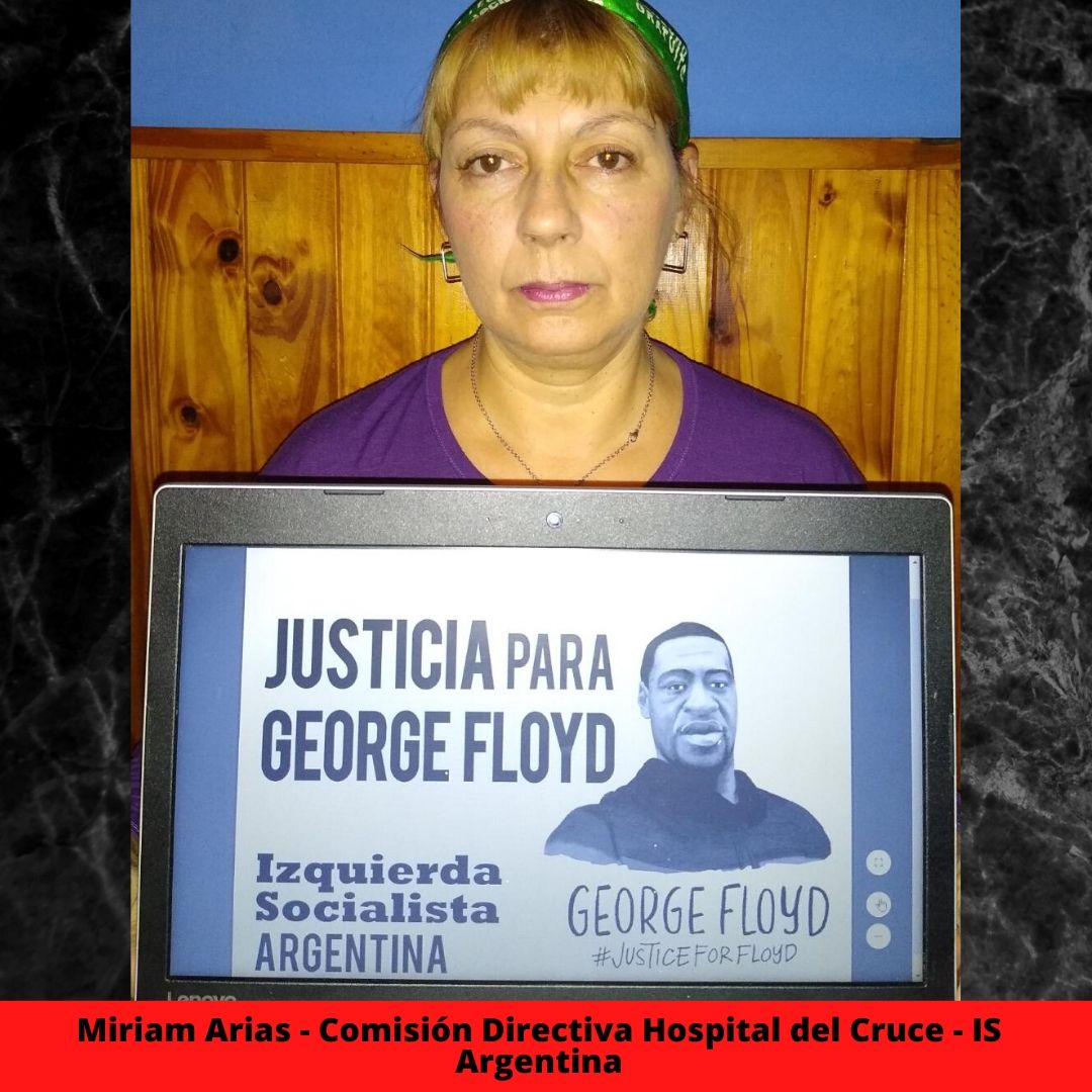 miriam arias - comisin directiva hospital del cruce - is argentina