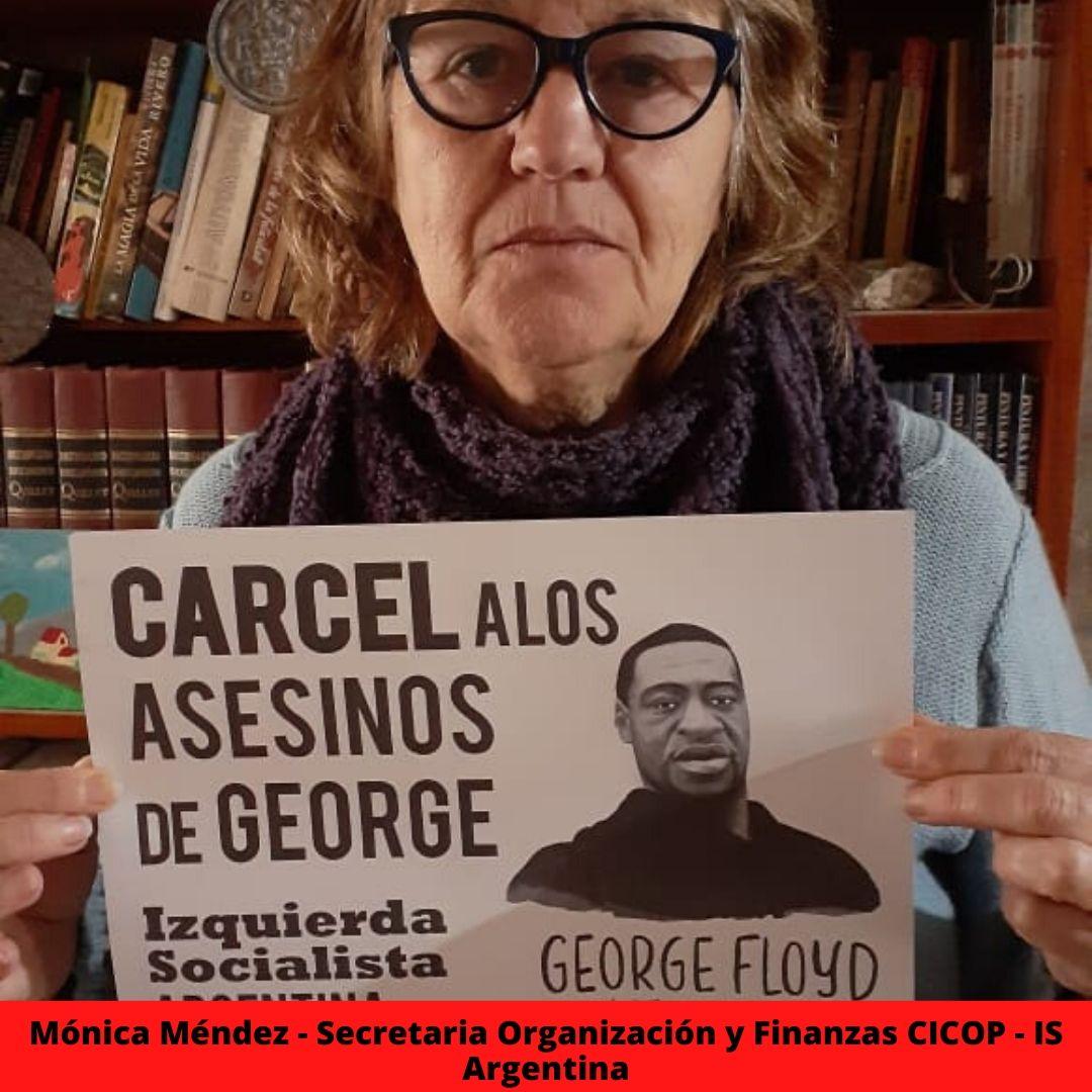 mnica mndez - secretaria organizacin y finanzas cicop - is argentina