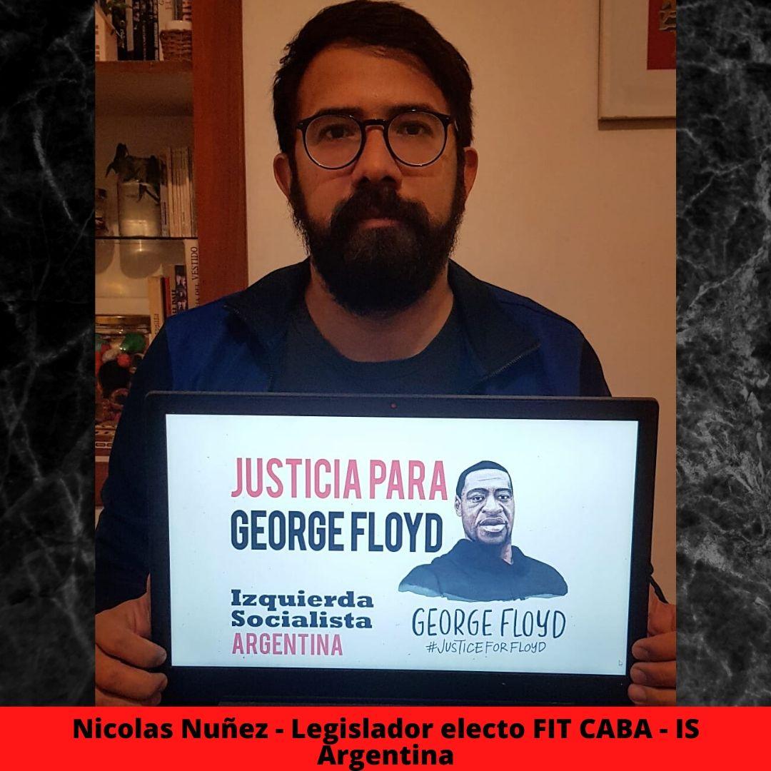 nicolas nuez - legislador electo fit caba - is argentina
