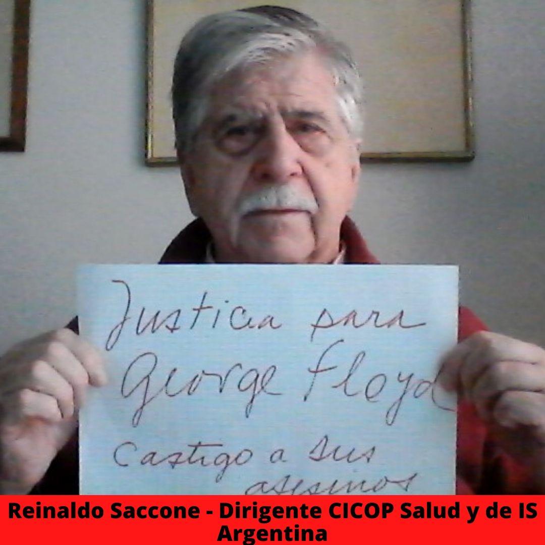 reinaldo saccone - dirigente cicop salud y de is argentina