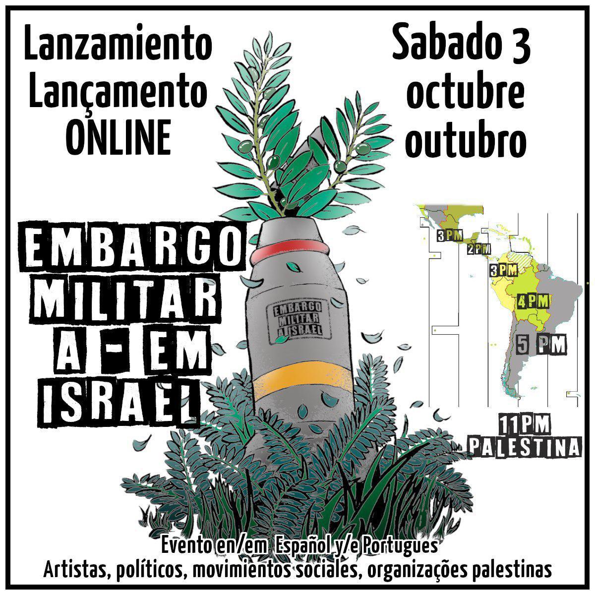 Boicot militar a Israel 2020-09-28