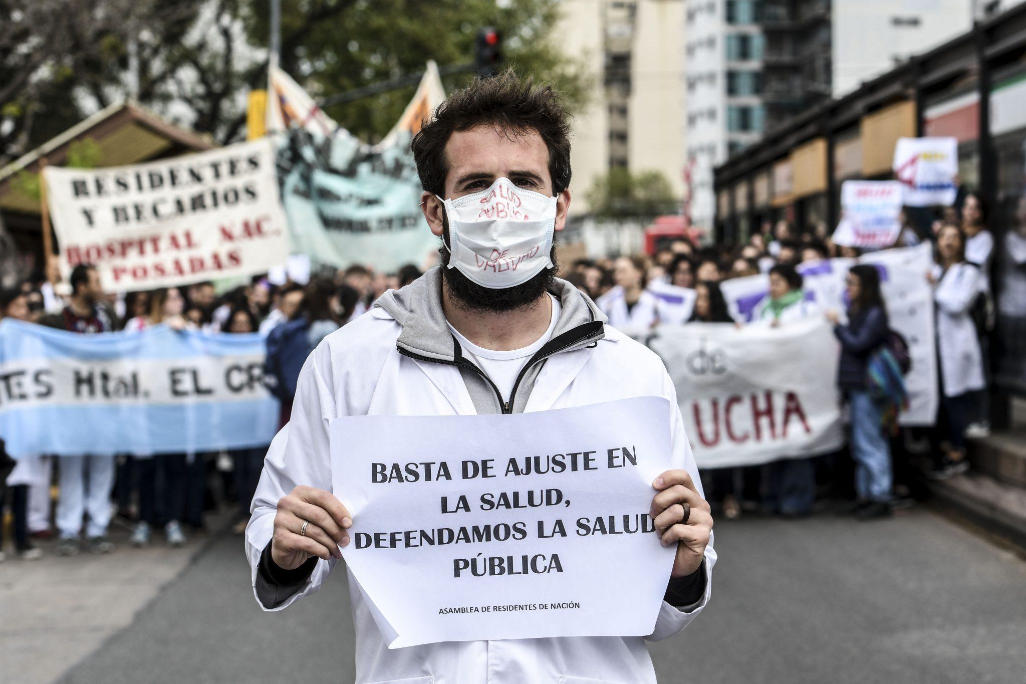 buenos aires protesta de medicos