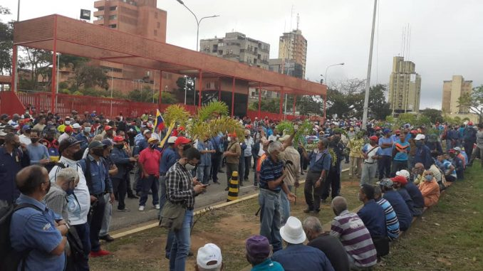 Protesta-Guayana
